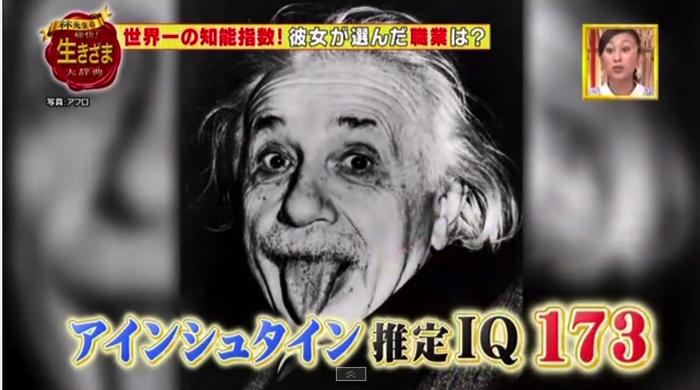 アインシュタインのIQ