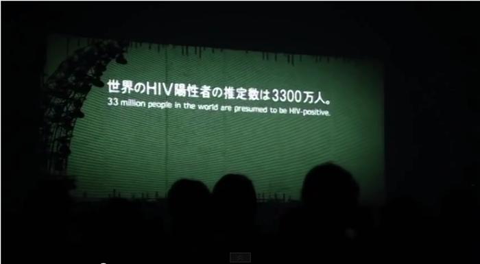 世界のHIV陽性者の推定数は3300万人。