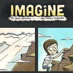 世界平和と人類愛を歌ったジョン・レノンの「Imagine」を表現した漫画