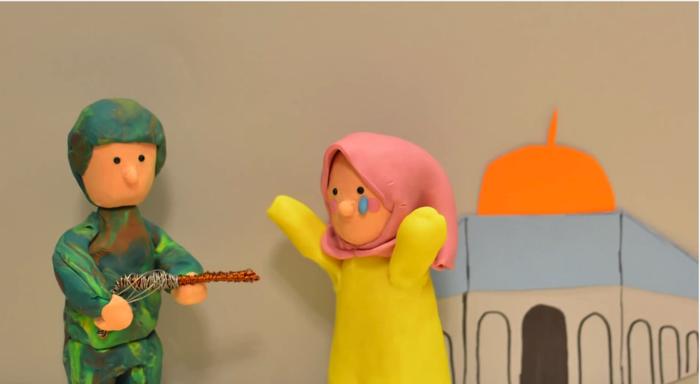 ジョン・レノン「imagine」のクレイアニメ5