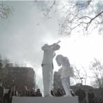 ストリートパフォーマンスで児童虐待防止を訴えるユニセフのキャンペーン動画