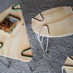 オンリーワンのテーブルがすぐにつくれる!シンプルだけど目からウロコな着脱式のテーブル脚「SNAP」