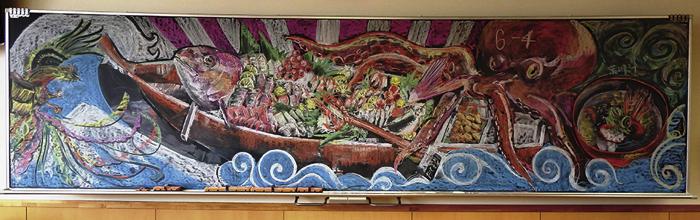 黒板アート6