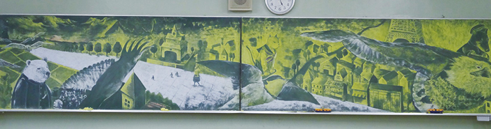 黒板アート7