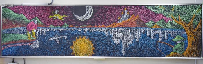 黒板アート9