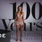 2分で振り返る!女性ファッションが「100年」でどう変化してきたのか