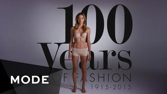 女性ファッション100年史