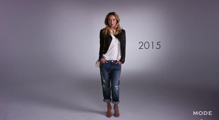 女性ファッション100年史13