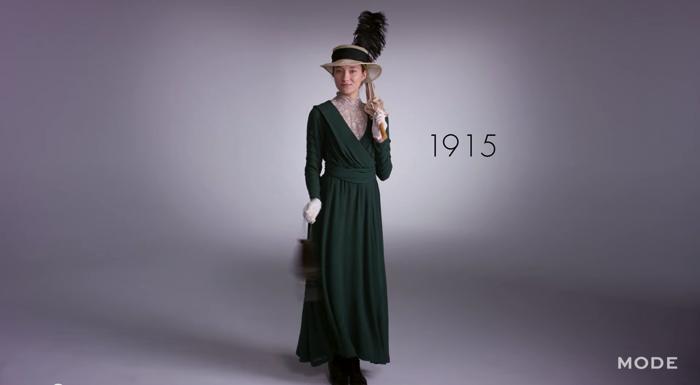 女性ファッション100年史3