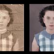 古い写真の肖像画修復