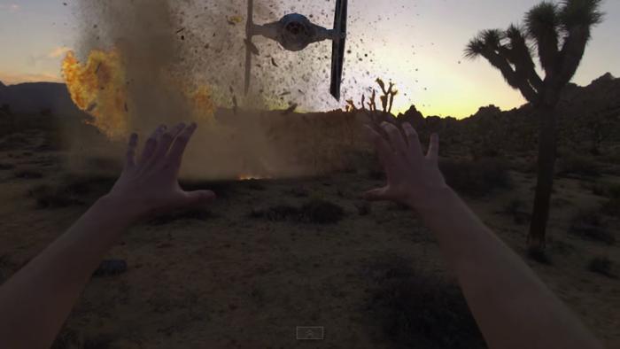 GoProでスターウォーズの世界を表現7