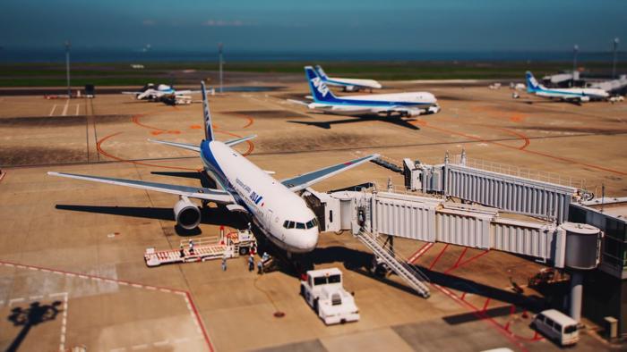 ミニチュア化した羽田空港3