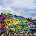 若者の暴力事件を根絶させたメキシコの超巨大なストリートアート