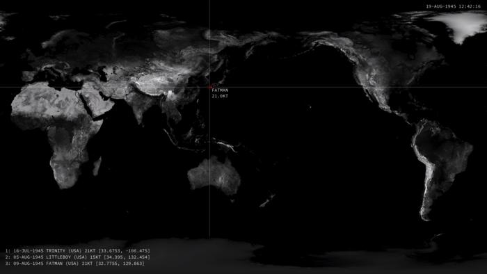 1945年以降の核爆発3
