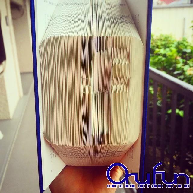 ブックアート「OruFun」2