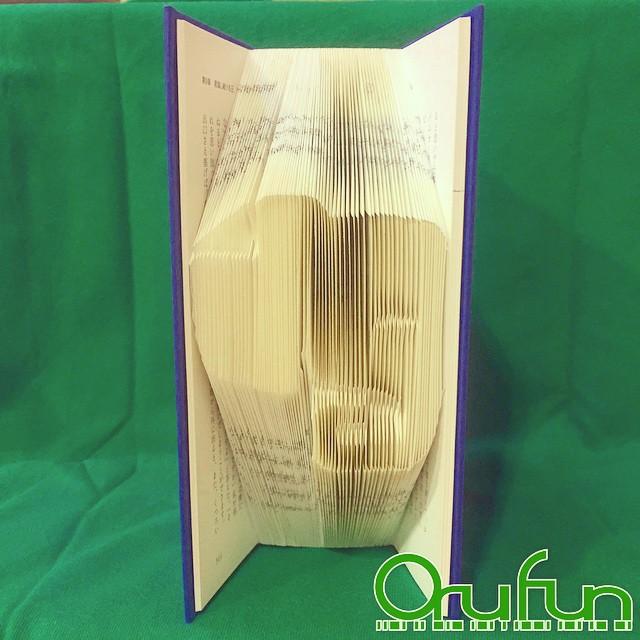 ブックアート「OruFun」4