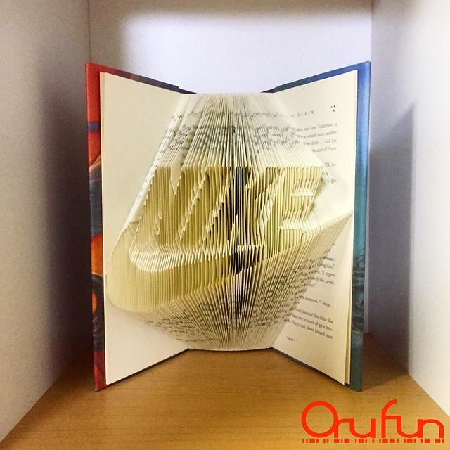 ブックアート「OruFun」6