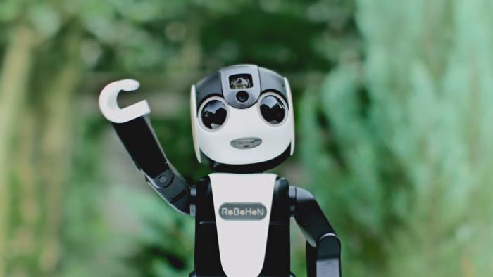 モバイル型ロボット電話「RoBoHoN」
