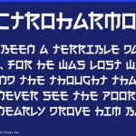 日本人であることを実感・・・読めそうで読めない「日本人にだけ読めないフォント」