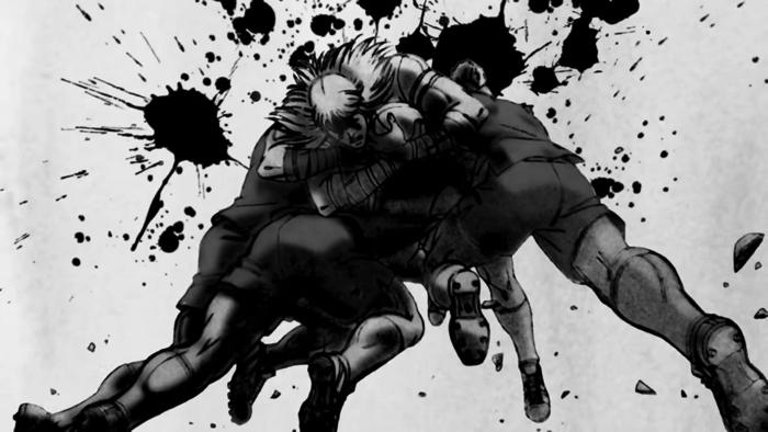 北斗の拳キャラがラグビー「Ultimate Rugby Battle」