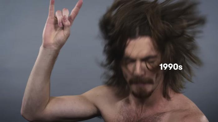 アメリカ人男性ヘアスタイル100年の歴史18