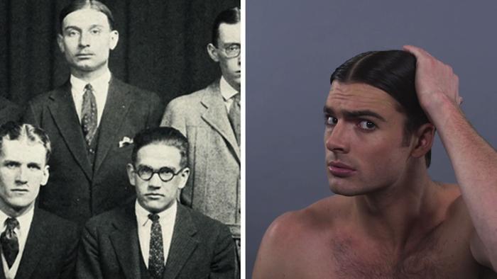 アメリカ人男性ヘアスタイル100年の歴史5