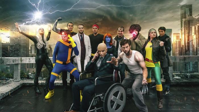 X-Menハロウィンコス集団1