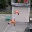 日本人の消防訓練