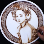 安室奈美恵さんを描いたチョコレートアート、クオリティの高い作品に海外からも驚きの声