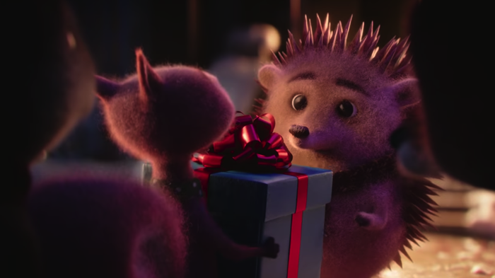ひとりぼっちのハリネズミがもらったクリスマスプレゼント
