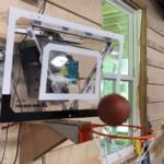 絶対にシュートを決めることができる驚きのバスケットゴールが登場