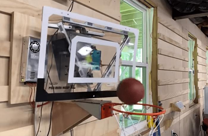 ロボットバスケフープ