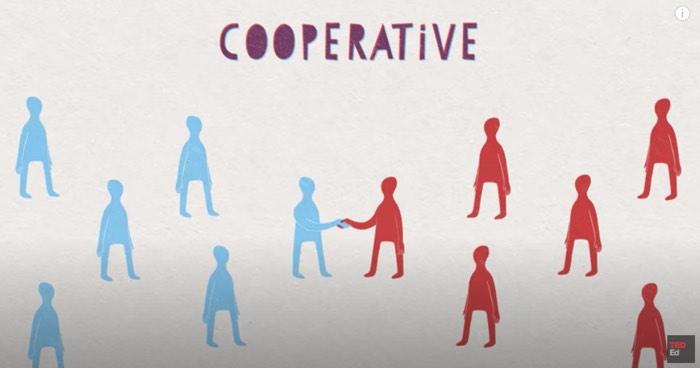 協調的な世界