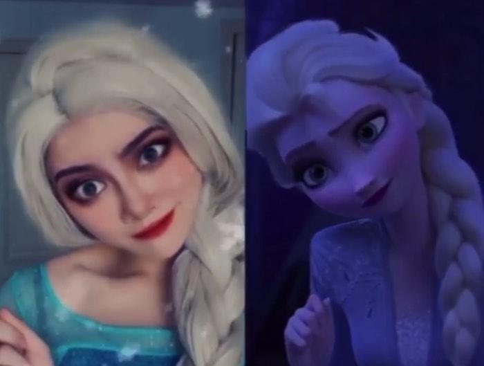 アナ雪のエルサ
