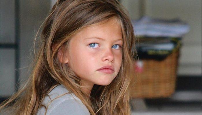 「世界で最も美しい少女」ティラーヌ・ブロンドー
