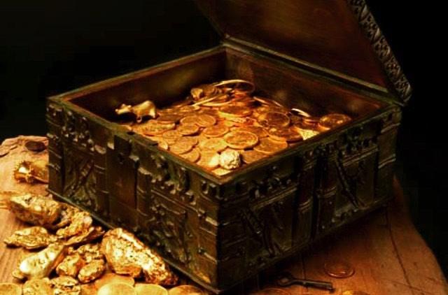 ロッキー山脈に隠された宝箱が発見される