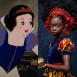黒人の少女がディズニープリンセスのイメージを変える、魅力的な写真14選