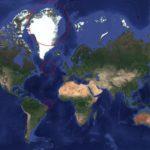 この地図の赤い丸はすべて同じ大きさ!メルカトル図法の地図に隠された真実