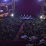 世界有数のオペラハウス「リセウ大劇場」客席を埋めたのは2292本の植物