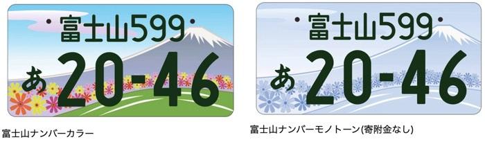 富士山ナンバー