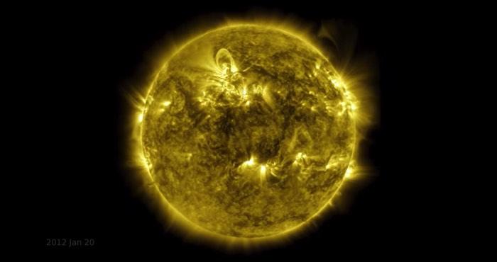 太陽の10年間の姿