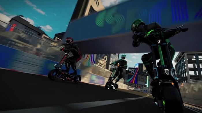 電動キックボードによるレース「eSC」開幕へ
